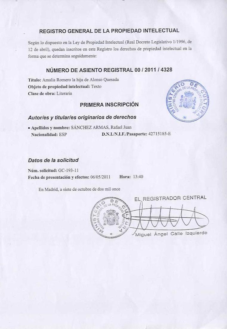 La gaveta de aguere juan rodriguez doreste for Registro de la propiedad lugo