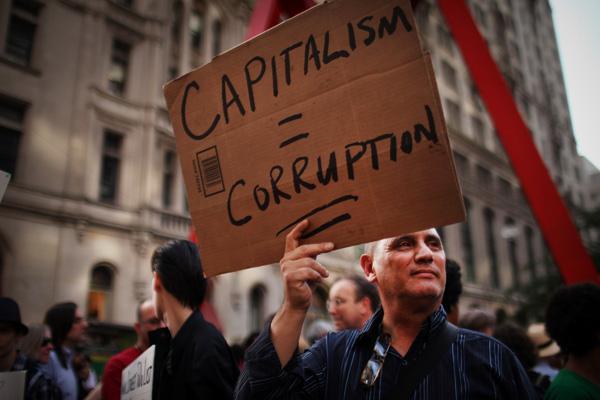 Capitalismo es corrupción